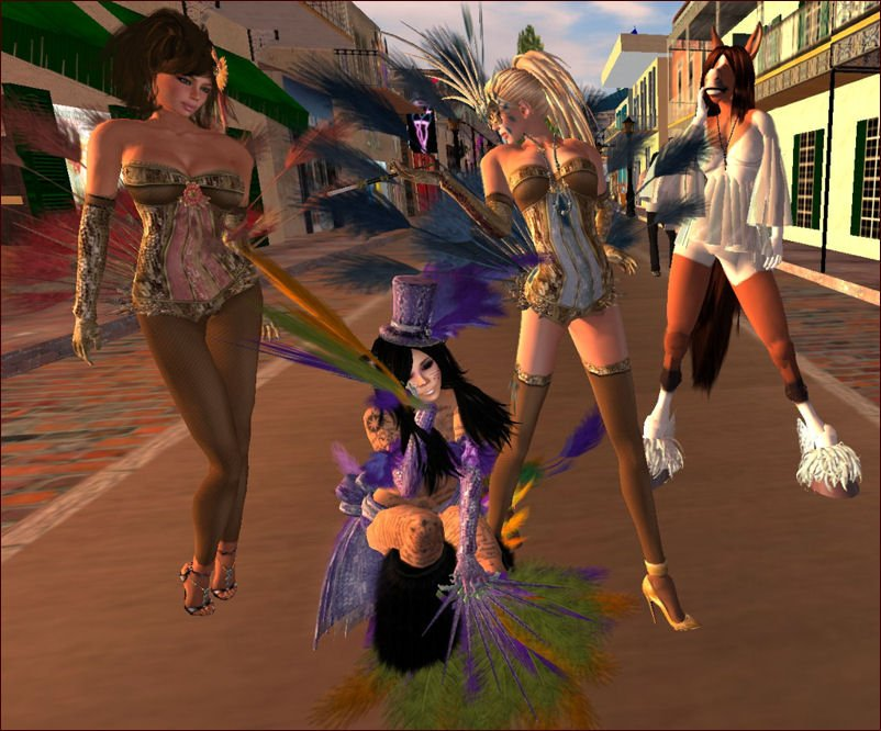 Devious mardi gras w chanimations threads and tuneage